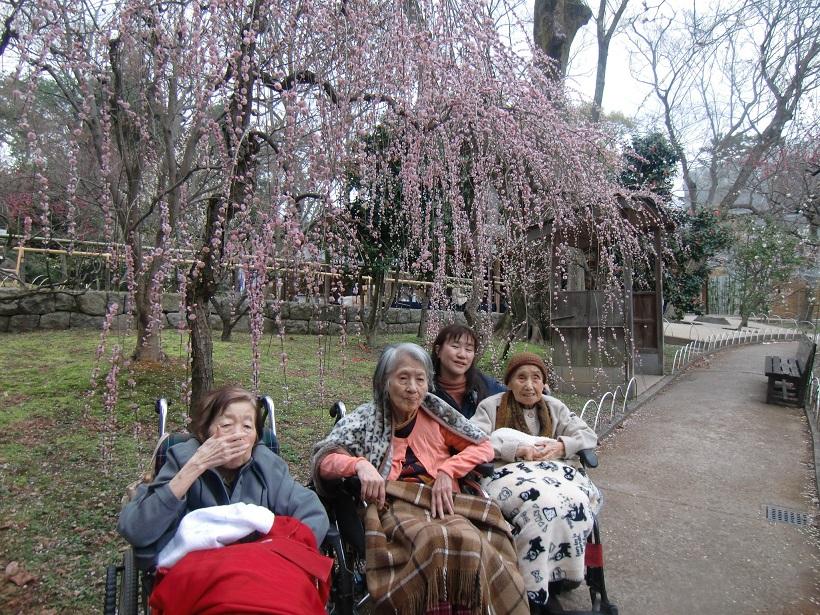 特別養護老人ホーム緑寿会山科苑の冬